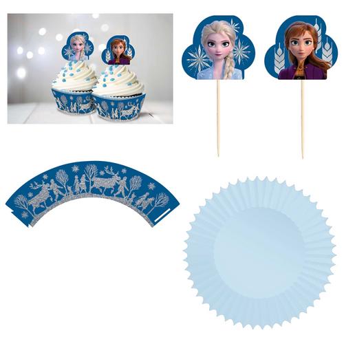 Frozen 2 Gltr Cupcake Kit