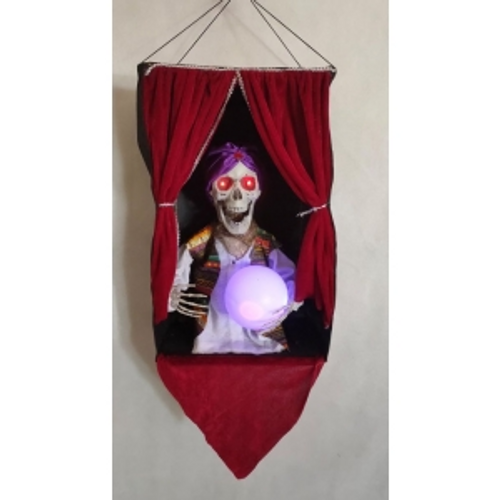 HANGING ZOLTAN FORTUNE TELLER WLIGHT AND SOUND