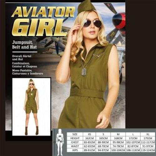 AVIATOR GIRL SIZE S
