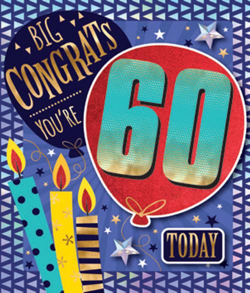 CARD NQSQUARE BD AGE 60 G