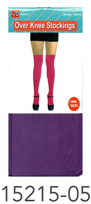 Over Knee Stockings (Purple)