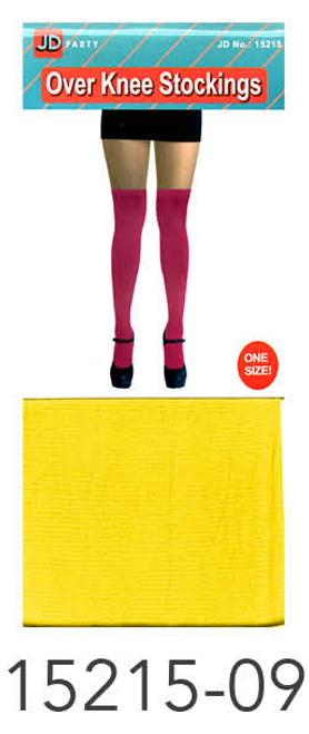 Over Knee Stockings (Yellow)