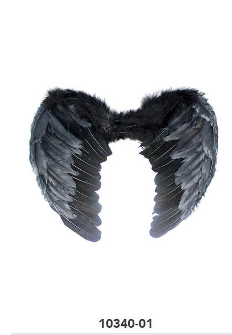 Angel Wing (Large) (Black)