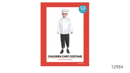 Children Chef Costume