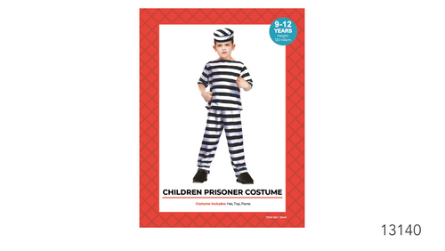 Children Prisoner Boy Costume (08020)