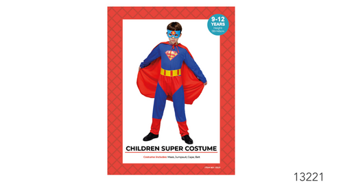 Children Super Hero Costume (A0141)