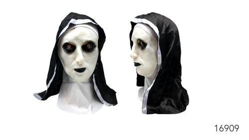 Creepy Nun Latex Mask