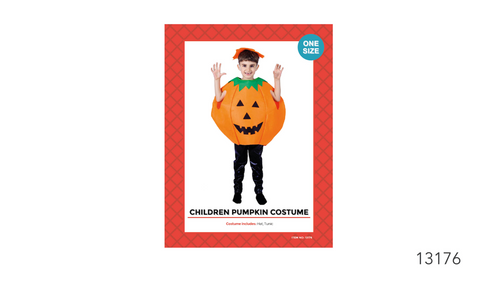 Children Deluxe Pumpkin Costume