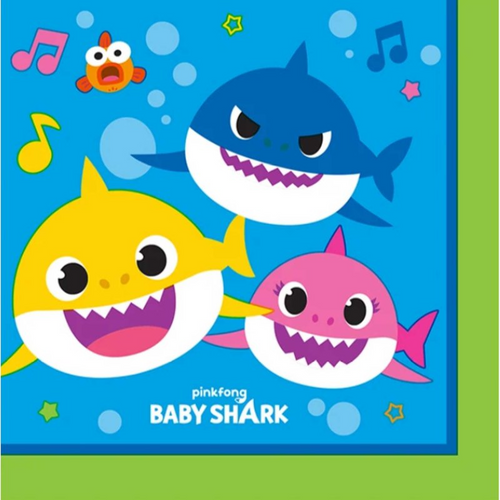 Baby Shark B/Napkin