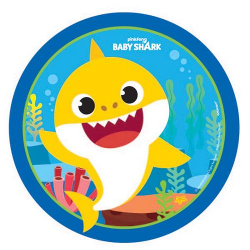 Baby Shark Rnd 7in/17cm