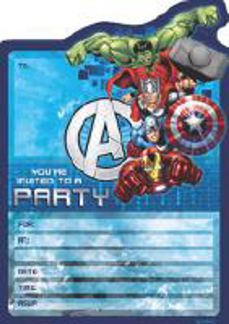 INVITE 16PK MARVEL AVENG