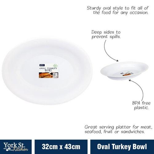 Bowl Oval Turkey 32cm x43cm