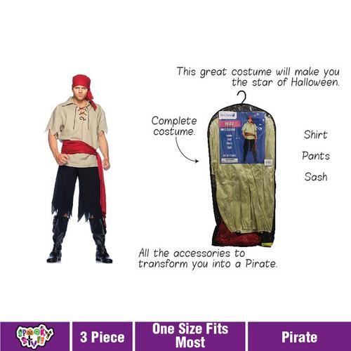 Costume Adult Pirate