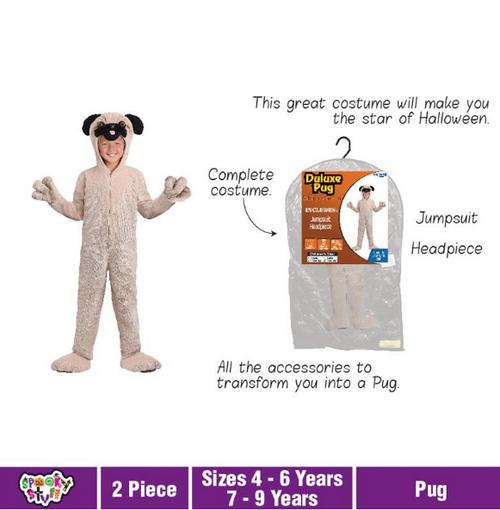 Costume Children Pug Deluxe