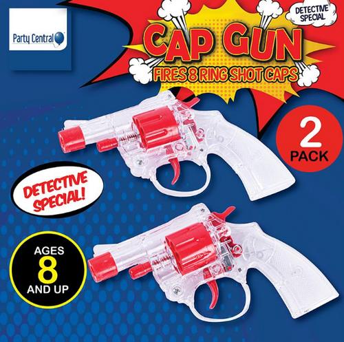 Cap Gun Super 2pk