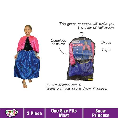 Costume Children Snow Princess
