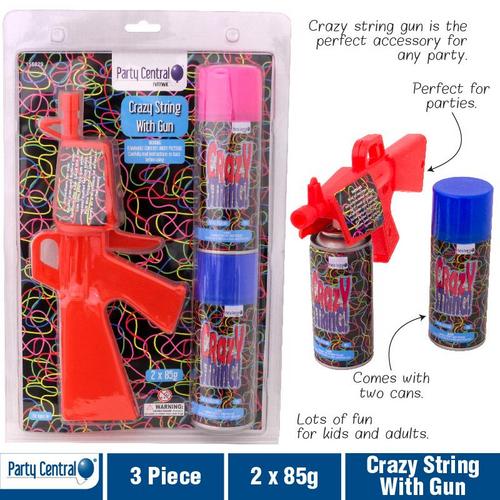Crazy String With Gun 2 x 85g