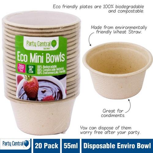 Enviro Disposable Bowl 55ml 20pk