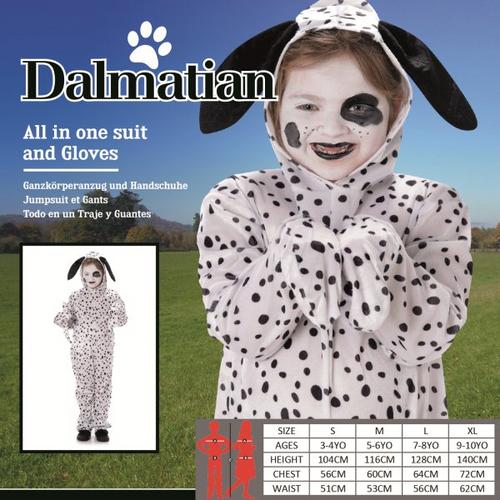 *KIDS DALMATION SIZE XL