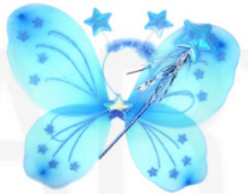 Butterfly Wing 3pcs Set (Blue)