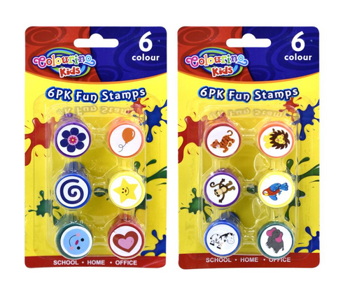 6PK Fun Stamps