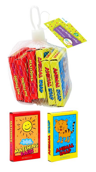 Loot Bag Party Fillers (Net Range) - Mini Playing Cards-6PK