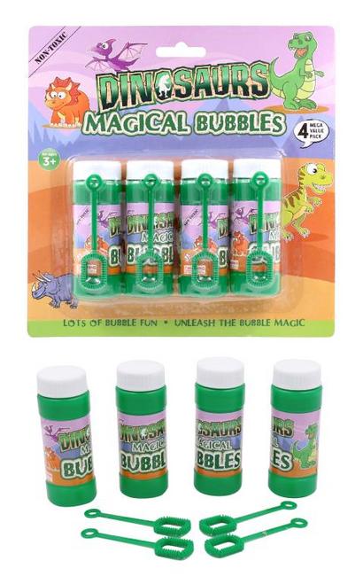 Kids Bubble Set (Dinosaur Series)-4PK