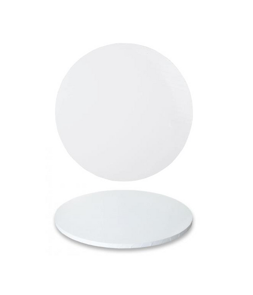 """Premium Heavy Duty Professional Cakeboards (Round) - 6"""" - White Series"""