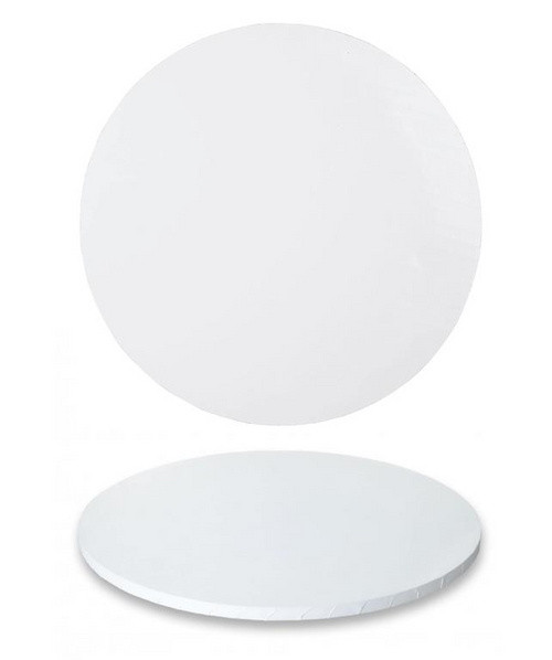 """Premium Heavy Duty Professional Cakeboards (Round) - 14"""" - White Series"""