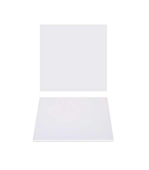"""Premium Heavy Duty Professional Cakeboards (Square) - 6"""" - White Series"""