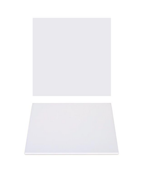 """Premium Heavy Duty Professional Cakeboards (Square) - 10"""" - White Series"""