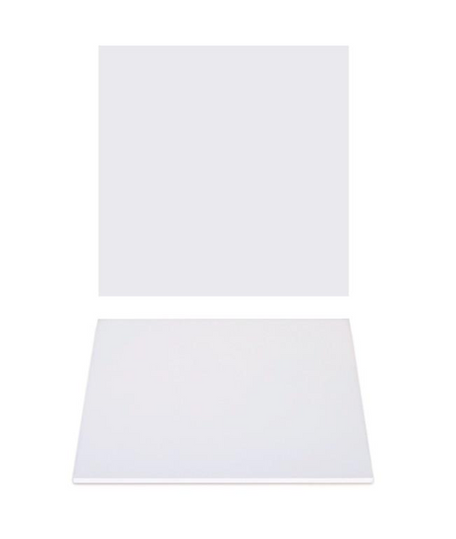 """Premium Heavy Duty Professional Cakeboards (Square) - 12"""" - White Series"""