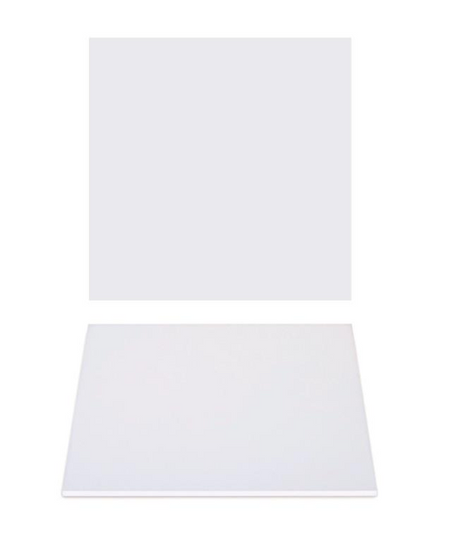 """Premium Heavy Duty Professional Cakeboards (Square) - 14"""" - White Series"""