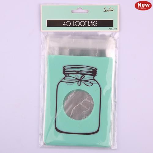 *40pk Mint Loot Bags-10x13cm
