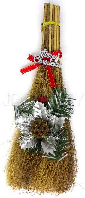 Christmas Broom