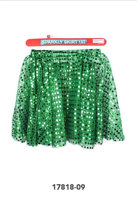 Sparkly Skirt (S) (Green)