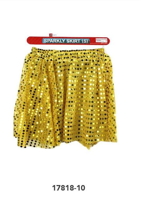 Sparkly Skirt (S) (Gold)
