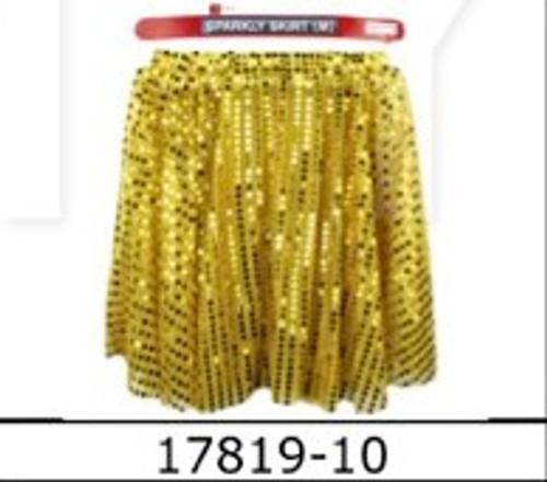 Sparkly Skirt (M) (Gold)