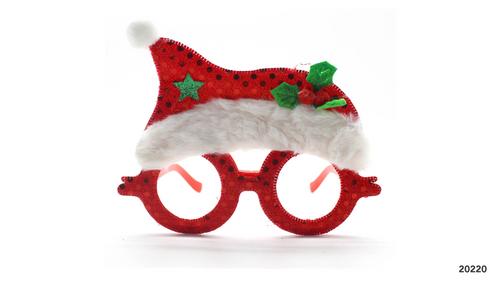 Party Glasses Christmas (Santa)
