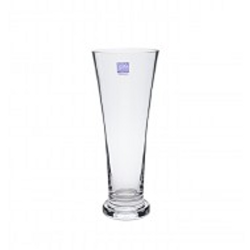 Glass Vase Curved Shape 12x30cmH (1/12)