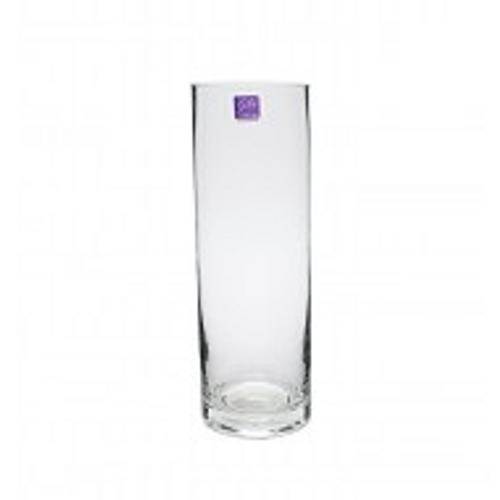 Glass Cylinder Vase 10x30cmH (1/12)