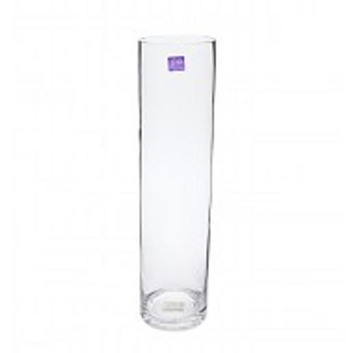 Glass Cylinder Vase 10x40cmH (1/8)