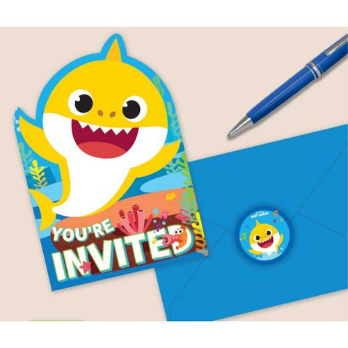 Baby Shark Pstcd Invite