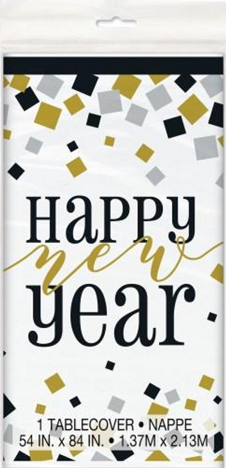 B/G/S HAPPY NEW YEAR TABLECOVER