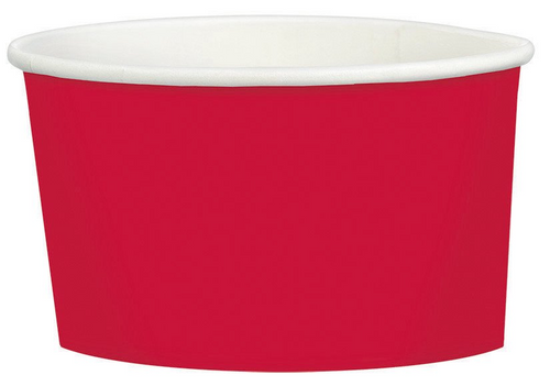 Ppr Treat Cup 9.5oz/280ml Apple Red