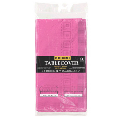 3PLY TCover Plas Lined Bright Pink