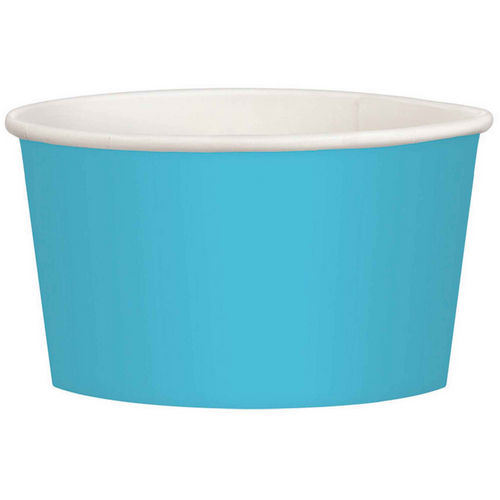 Ppr Treat Cup 9.5oz/280ml Carib Blue