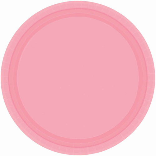 Ppr Plates 10.5in/26.6cm Rnd 2 0CT-New Pink