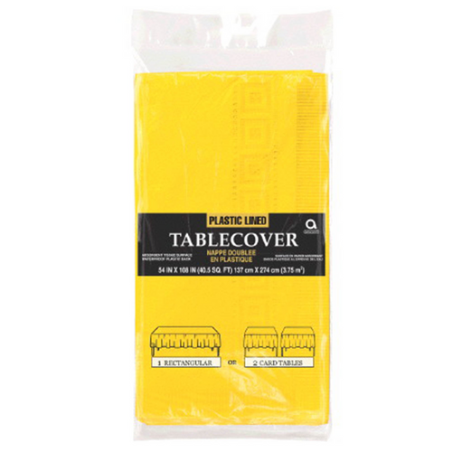 3PLY TCover Plas Lined Yellow Sunshine