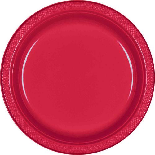Plas Plates 26cm 20CT-Apple Re